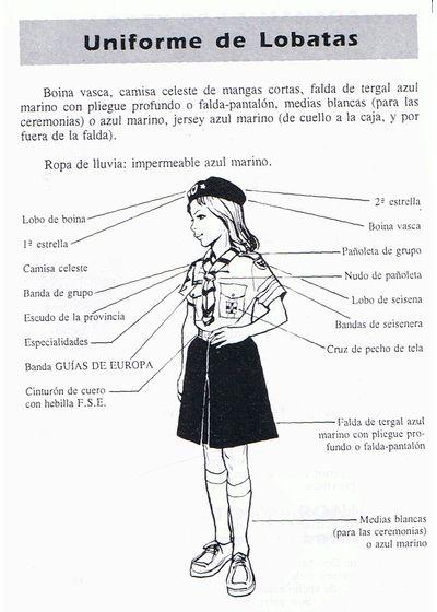 Uniforme lobata Scouts de Europa