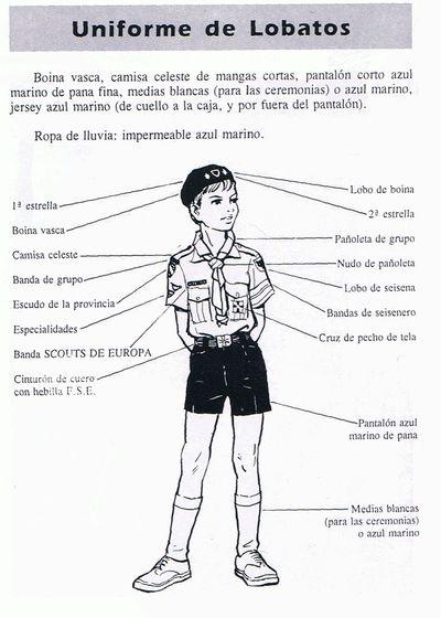 Uniforme lobato Scouts de Europa